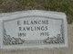 Profile photo:  E Blanche Rawlings