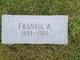 Frankie A. <I>Stone</I> Alston