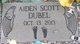 Profile photo:  Aiden Scott Dubel