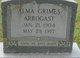 Alma <I>Grimes</I> Arbogast