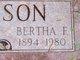 Bertha F. <I>Chaplin</I> Thompson