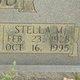 """Stella Mae """"Patsy"""" Haygood"""