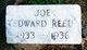 Joe Edward Reed