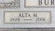 Profile photo:  Alta Mae <I>South</I> Burnett