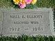 Nell Ethelyn <I>DeShong</I> Elliott