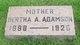 Bertha A. <I>Carmichael</I> Adamson