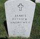Profile photo: Spec James Patrick Andrews