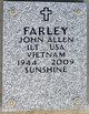 Profile photo:  John Allen Farley