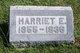 "Profile photo:  Harriet Elizabeth ""Hattie"" Allen"