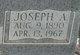 Profile photo:  Joseph Arnold Albright