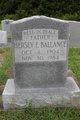 Hersey E Ballance