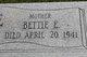 "Elizabeth E. ""Bettie"" <I>Key</I> Brite"