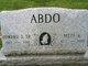 "Profile photo:  Edward John ""Nippy"" Abdo Sr."
