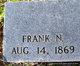 Profile photo:  Frank Newton Pate