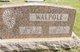 Profile photo:  Ada H. <I>Stalter</I> Walpole