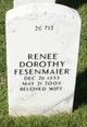 Renee Dorothy <I>Mueller</I> Fesenmaier