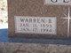 Warren Brough Geil