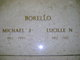 "Lucille N ""Lou"" <I>Nuccio</I> Borello"