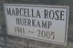 Marcella Rose <I>Huerkamp</I> Anthony