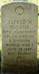 Profile photo: CPL Alfred Hugh Sloane