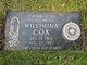 Willimina Margaret <I>Ewen</I> Cox