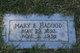 Mary E Hagood