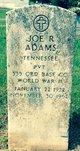 Joe R. Adams