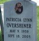 Patricia Lynn Overshiner