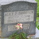Profile photo:  Alice P <I>Davidson</I> Peters