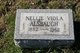 Profile photo:  Nellie Viola <I>Dunlap</I> Alsbaugh