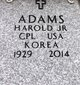Profile photo:  Harold Adams, Jr