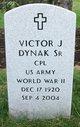 Profile photo:  Victor J Dynak, Sr