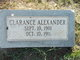 Profile photo:  Clarence Alexander
