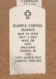 Eloyce <I>Coffee</I> Harris