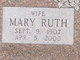 Mary Ruth <I>Arganbright</I> Ackley