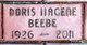 Mrs Doris Ilagene <I>Stoner</I> Beebe