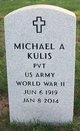 Profile photo:  Michael A. Kulis