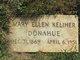 Mary Ellen <I>Keliher</I> Donahue