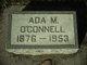 Profile photo:  Ada M. <I>Hagen</I> O'Connell