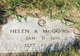 Profile photo:  Helen Anna <I>Harrison</I> McGowan