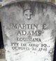Profile photo:  Martin E Adams