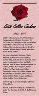 Edith <I>Collins</I> Jackson
