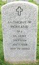 Profile photo:  Anthony Wayne Holland