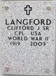 Clifford J Langford, Sr