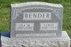 Profile photo:  Ida <I>Yoder</I> Bender