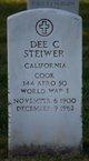 """Profile photo:  Dietrich Conrad """"Dee"""" Steiwer"""