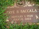 "Faye B ""Midge"" Baccala"