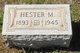 Profile photo:  Hester M <I>Smith</I> Ash