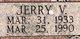 Jerry V. Dunaway