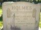 Profile photo:  Albert E. Holmes